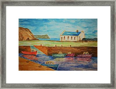 Ballintoy Series 1 Framed Print by Paul Morgan