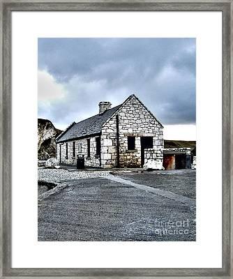 Ballintoy Stone House Framed Print by Nina Ficur Feenan