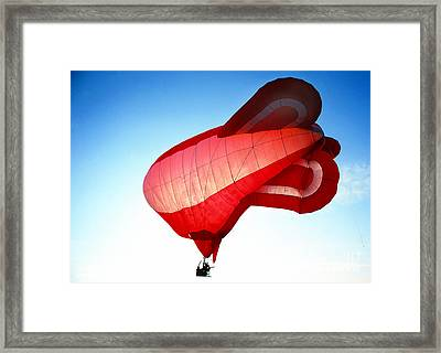Balloon 21 Framed Print