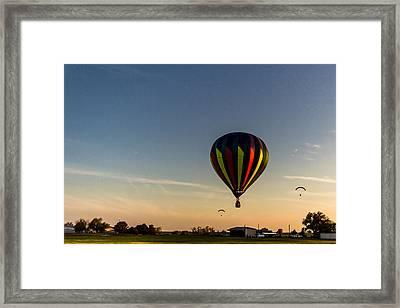Balloon 8 Framed Print