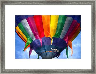 Balloon  Framed Print by Betsy Knapp