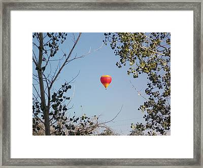 Balloon Candy Framed Print