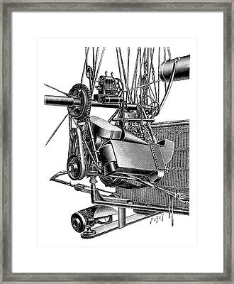 Balloon Engine And Magneto Framed Print