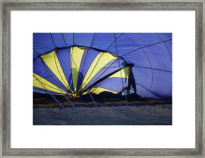 Framed Print featuring the photograph Balloon Fantasy 4 by Allen Beatty