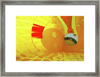 Framed Print featuring the photograph Balloon Fantasy 6 by Allen Beatty