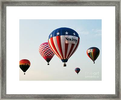 Balloon Festival Framed Print by Steven Spak