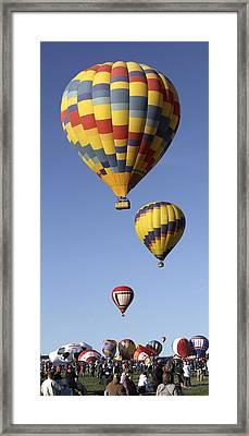 Balloon Fiesta 2012 Framed Print by Mike McGlothlen
