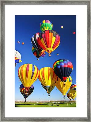 Balloon Grouping Framed Print
