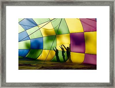 Balloon Helpers  Mg1138 Framed Print