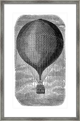 Balloon 'le Geant' Framed Print by Science Photo Library