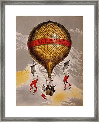 Balloon Framed Print by Georgia Fowler