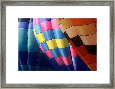 Framed Print featuring the photograph Balloon Patterns by Rodney Lee Williams