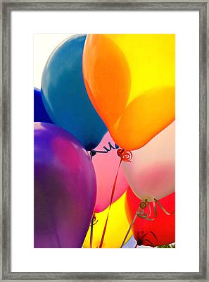 Balloons  Framed Print by Garry Gay