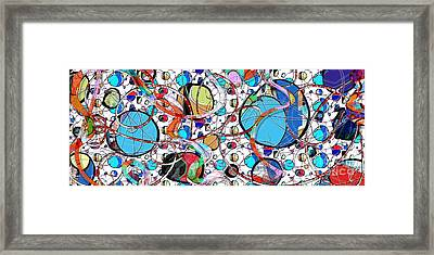 Balloons In Heaven Framed Print by Gabrielle Schertz