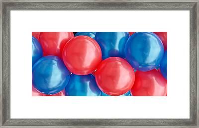 Balloons Framed Print by Tom Gowanlock