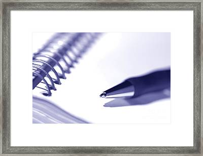 Ballpoint Framed Print by Olivier Le Queinec
