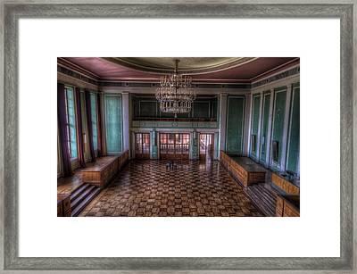 Ballroom Beauty Framed Print by Nathan Wright