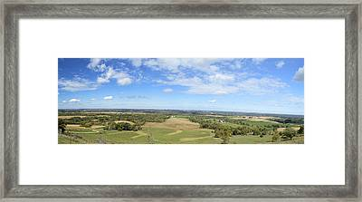 Balltown Panorama 2 Framed Print