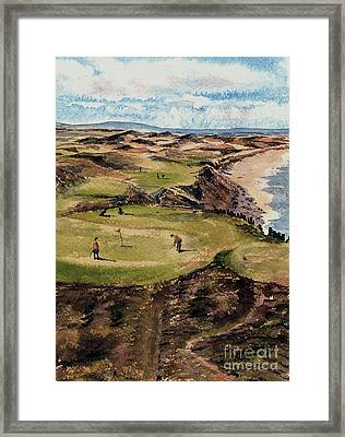 Kerry  Ballybunion G C Framed Print