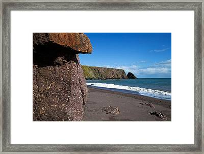 Ballydowane Beach, Bunmahon, County Framed Print by Panoramic Images