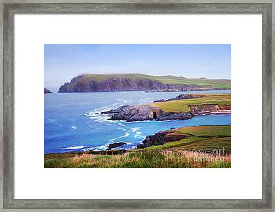 Ballyferriter Co. Kerry Ireland Framed Print by Jo Collins