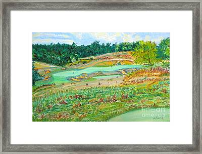 Ballyhack Double Green Framed Print by Frank Giordano