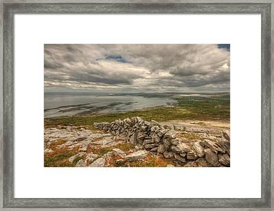Ballyvaughan View 1 Framed Print by John Quinn