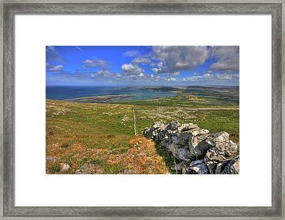 Ballyvaughan View Framed Print by John Quinn