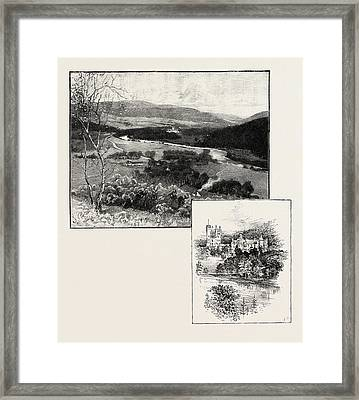 Balmoral And Balmoral Castle Framed Print by Scottish School