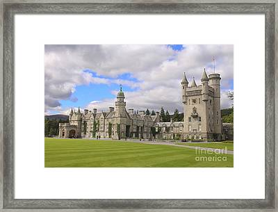 Balmoral Castle In Scotland Framed Print by Patricia Hofmeester