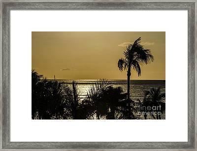 Balmy Beach Framed Print