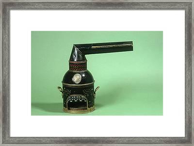 Balsam Inhaler Framed Print by Science Photo Library