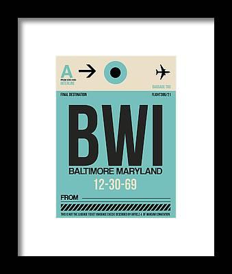 Baltimore Maryland Framed Prints