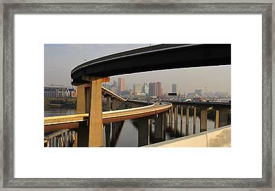 Baltimore City Unique View Framed Print