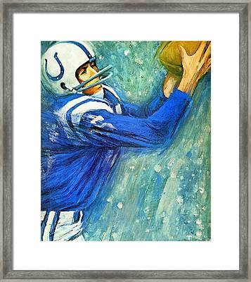 Baltimore Colts 1966 Vintage Print Framed Print