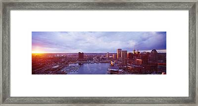 Baltimore Maryland Usa Framed Print by Panoramic Images