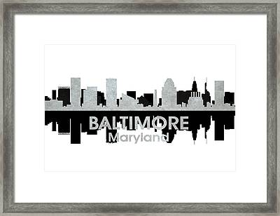 Baltimore Md 4 Framed Print by Angelina Vick