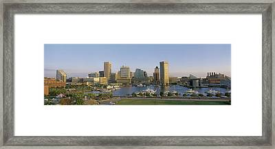Baltimore Md Framed Print