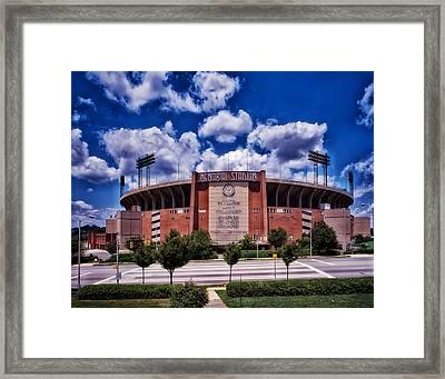 Baltimore Memorial Stadium 1960s Framed Print