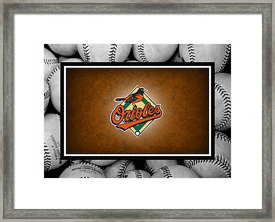 Baltimore Orioles Framed Print