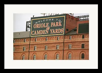 Baltimore Baseball Framed Prints