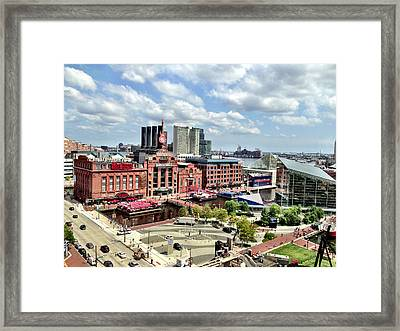 Baltimore Power Plant Framed Print
