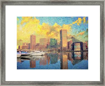 Baltimore Framed Print by Taylan Apukovska