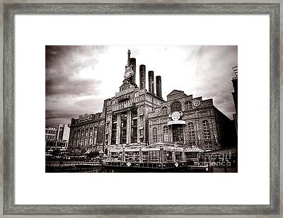 Baltimore United Railways And Electric Company Framed Print by Olivier Le Queinec