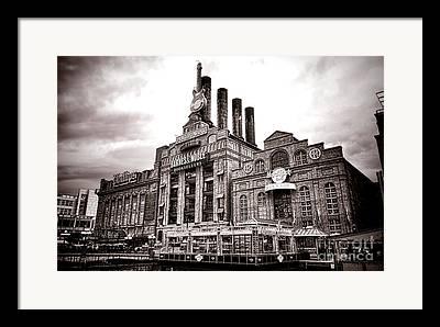 Historic Power Plants Framed Prints