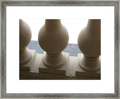 Balustrade Framed Print by Stephanie Hunter