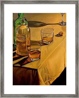 Balvenie Scotch Framed Print