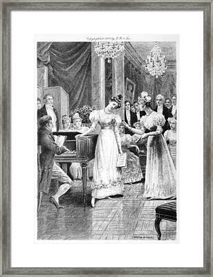 Balzac: A Woman Of Thirty Framed Print by Granger