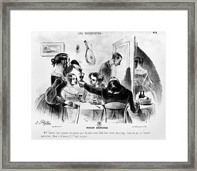 Balzac Le Pere Goriot Framed Print
