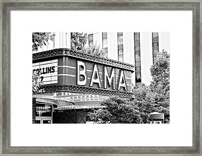 Bama Framed Print by Scott Pellegrin